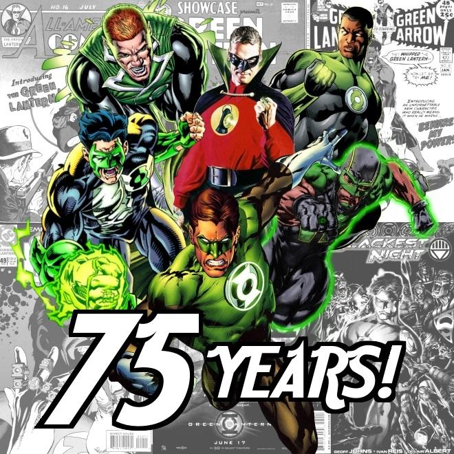 Green Lantern 75th Anniversary