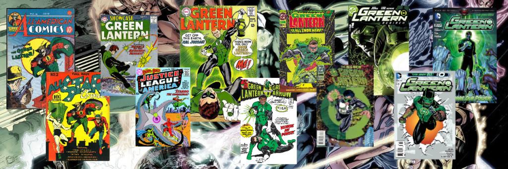 green lantern cover photo seventy five years